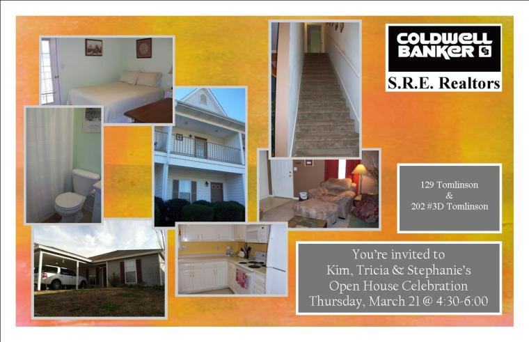 Open House- Feb 21, 2013