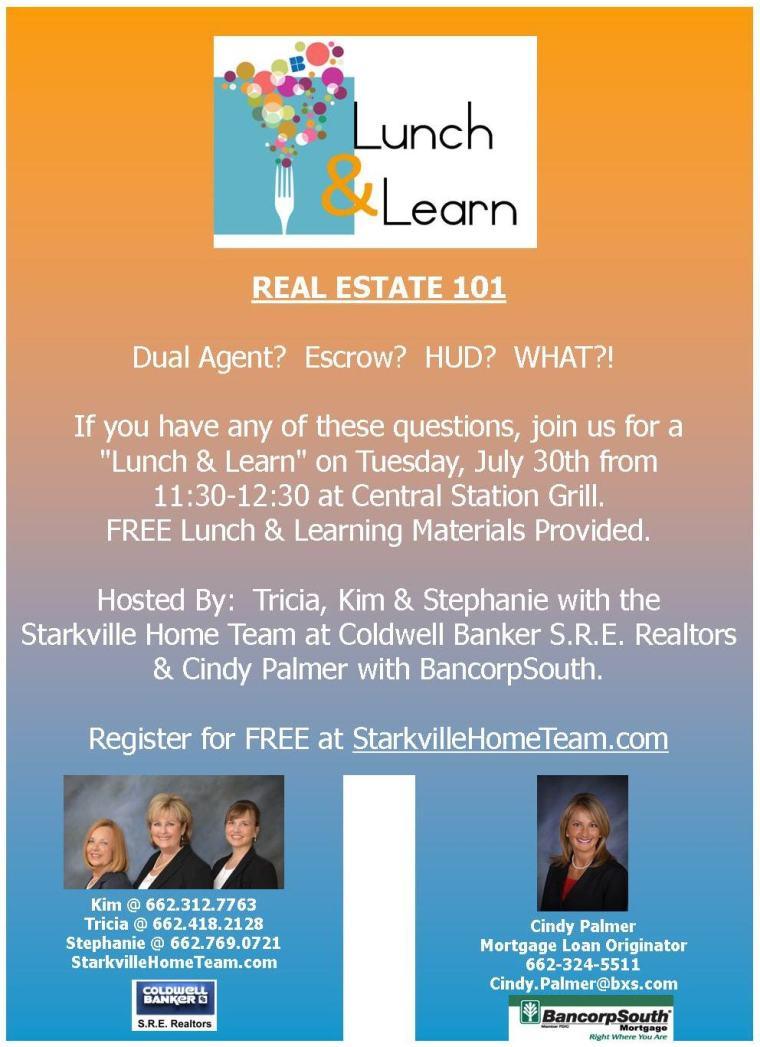 Starkville Home Team Real Estate 101