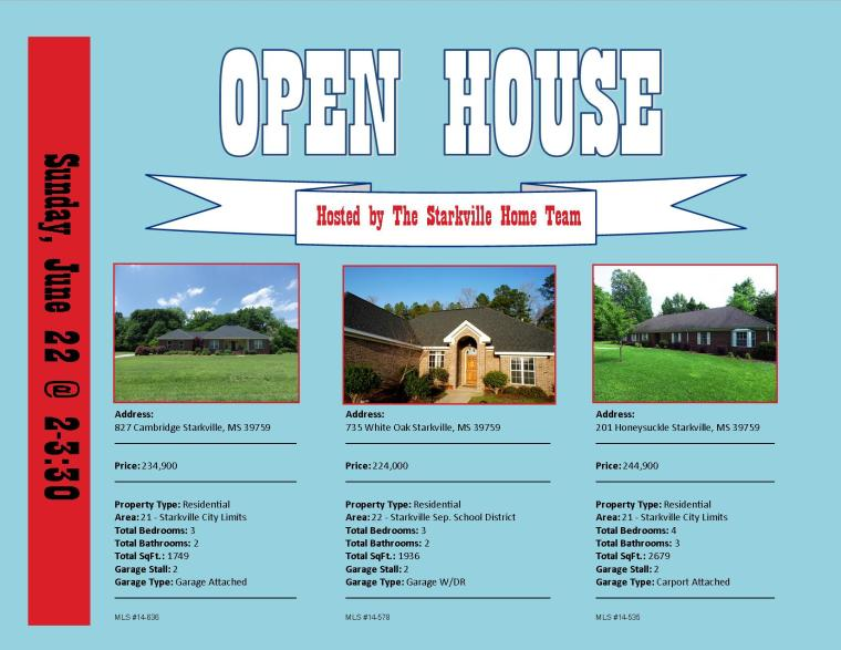open house june 22