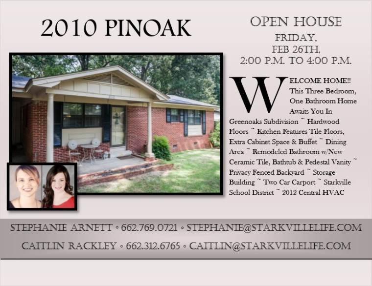 Open House pinoak