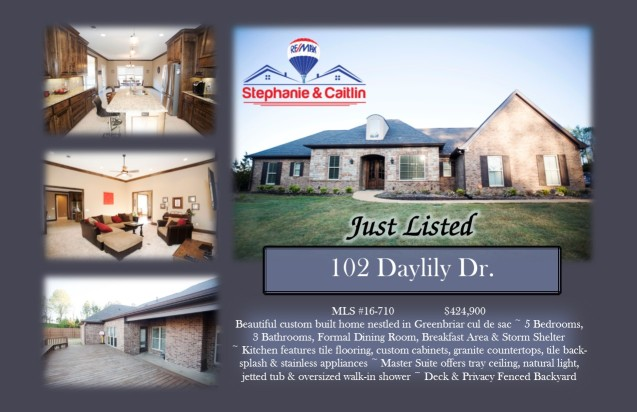 Just Listed 102 Daylily