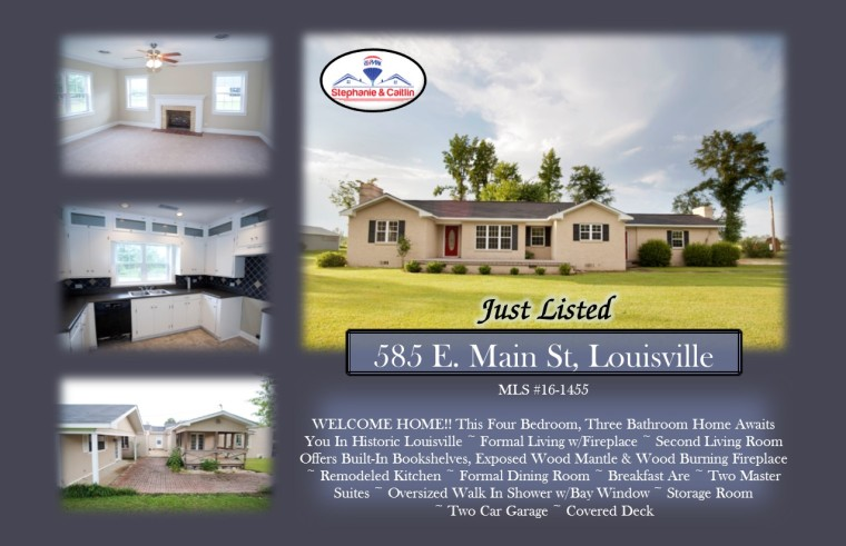 Just Listed 585 E. Main St
