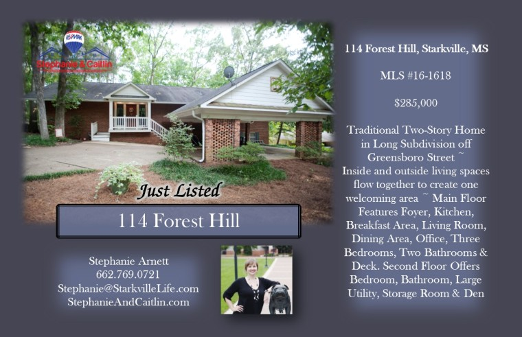 Just Listed 114 Forest Hill