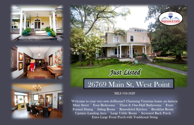 Just Listed 26769 Main St